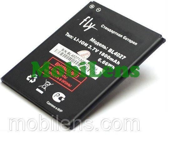 FLY IQ4410 Quad Phoenix, BL4027 Аккумулятор