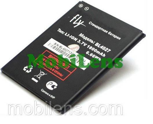 FLY IQ4410 Quad Phoenix, BL4027 Аккумулятор, фото 2