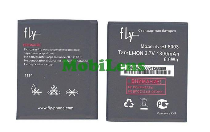 FLY IQ4491, Quad ERA Life 3, BL8003 Аккумулятор , фото 2