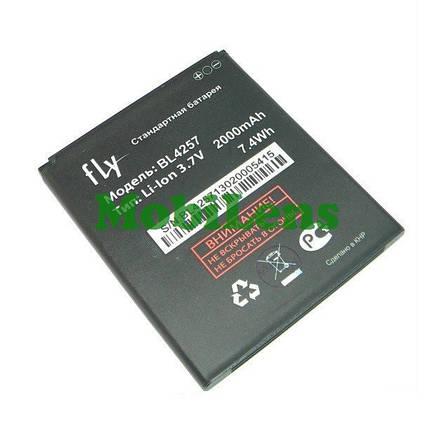 FLY IQ451 Vista, IQ451Q Quattro Vista, BL4257 Аккумулятор, фото 2