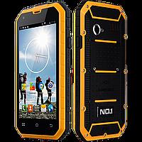 "NO.1 M2, IP68, GPS, 13 Mpx, память 8 GB, ОЗУ 1 GB, 2400 мАч, Android 5.0, 3G, дисплей 4.5"", 4 ядра."