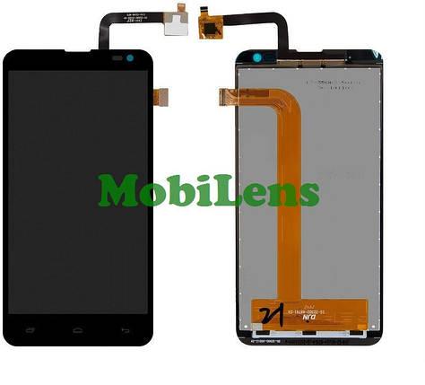 FLY IQ4514, Evo Tech 4 Дисплей+тачскрин(модуль) черный, фото 2