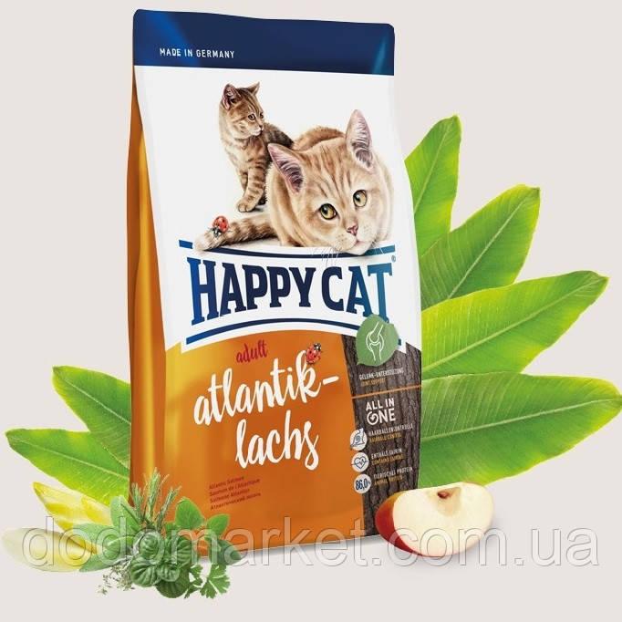 Сухой корм для кошек Happy Cat Supreme Adult Атлантический Лосось 10 кг