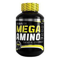 Аминокислоты BioTech Mega amino 3200 (100 таб)