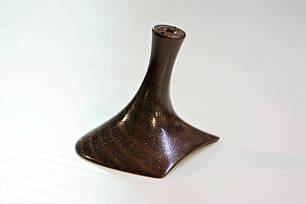 Каблук женский пластиковый 5525 коричневый р.1-3  h-5,5-6,0 см., фото 2