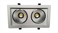 LED светильник встраиваемый декоративный LEDMAX SC36CWK COB 36W 6500K 2200Лм