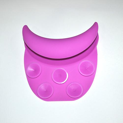 Підголовник на мийку перукарню PM-09 (малиновий колір)