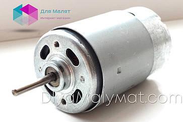 Мотор редуктора RS-550 12V 10000 оборотов для детского электромобиля