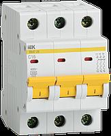 Автоматический выключатель ВА47-29 3Р 16А 4,5кА х-ка В ИЭК