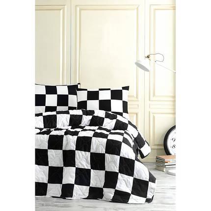 Покрывало 200х220 с наволочками на кровать, диван Дамки, фото 2