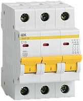 Автоматический выключатель ВА47-29 3Р 2А 4,5кА х-ка С ИЭК
