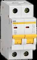 Автоматический выключатель ВА47-29 2Р 4А 4,5кА х-ка D ИЭК