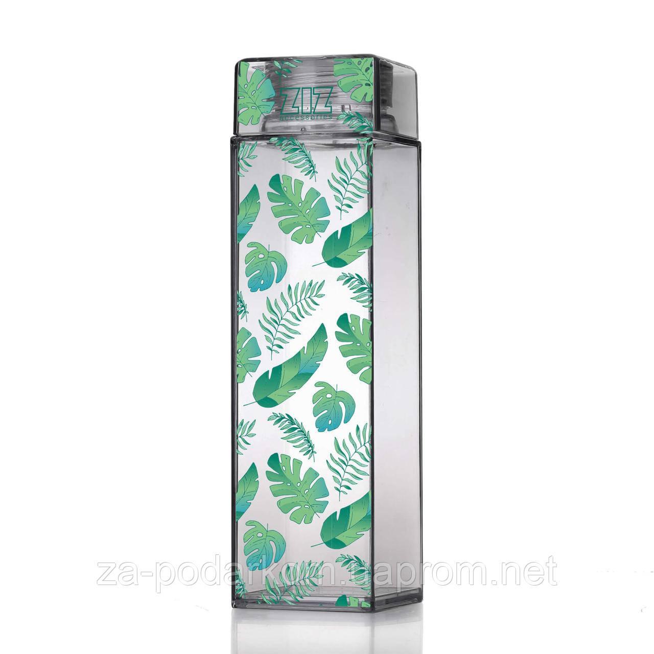 Пляшка для води подорожей Пальмове листя