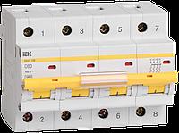 Автоматический выключатель ВА47-100 4Р 80А 10кА х-ка D ИЭК