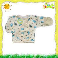 Распашонка на кнопке для недоношенных или маловесных деток, нецарапка для малышей