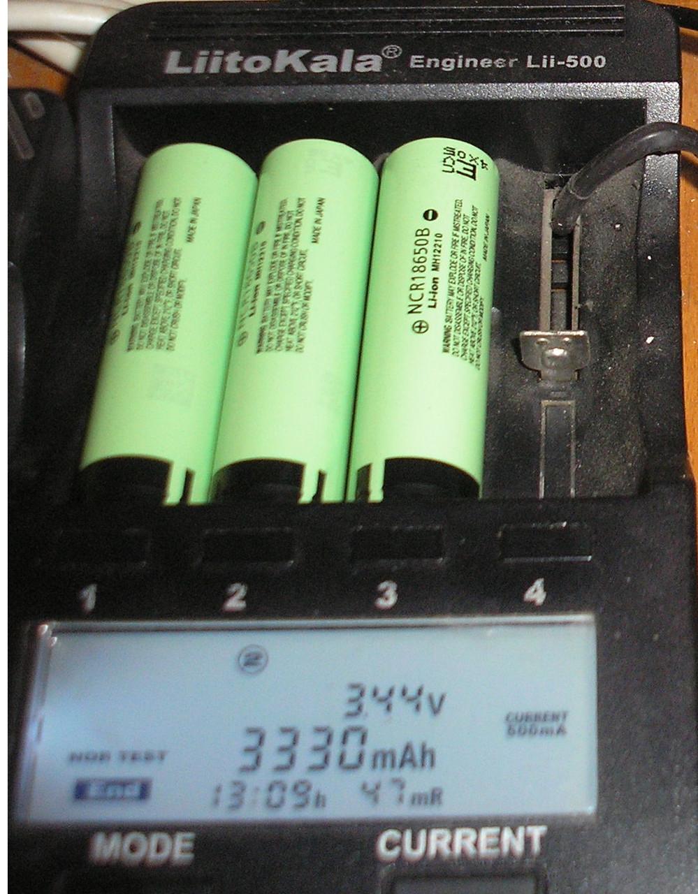 Аккумулятор Panasonic NCR18650В 3400mAh/8,0A - фото 5
