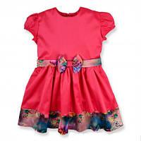 Красивое, нарядное недорогое платье на девочку с бантиком KS1041