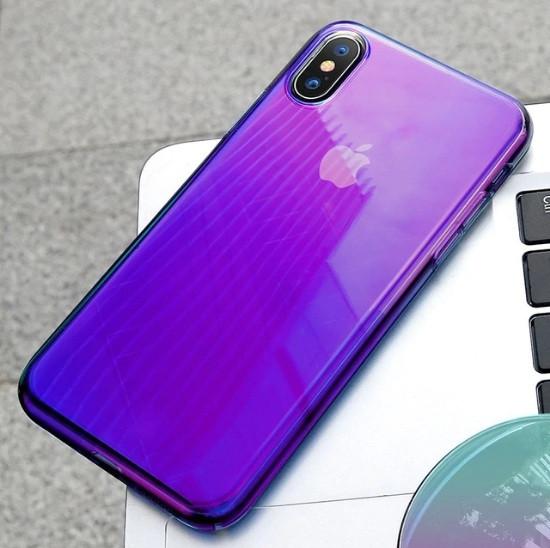 Чехол градиент Baseus Glow для Apple iPhone XR