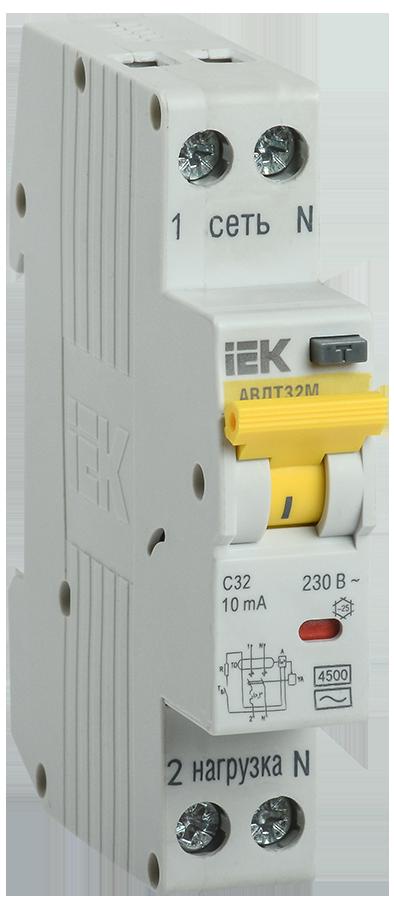 АВДТ32М С25 30мА - Автоматический Выключатель Диф. Тока ИЭК