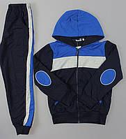 Спортивный костюм двойка трехцветный с лампасами  ост 128, 140, 152,  Crossfire 358