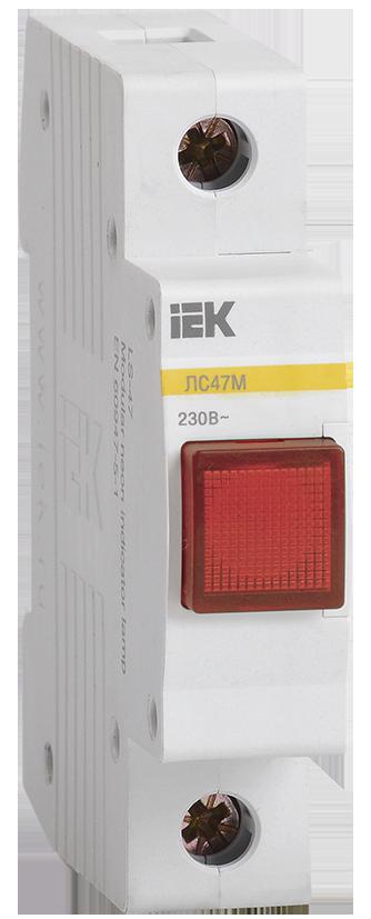 Сигнальная лампа ЛС-47М (красная) (матрица) ИЭК