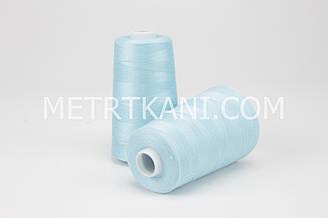 Нитки швейные  5000 ярдов, цвета светлый лазур № N50-40-144516
