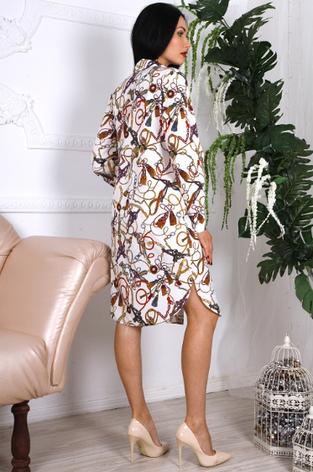 """Молодіжне плаття-сорочка """"Олеся"""", фото 2"""