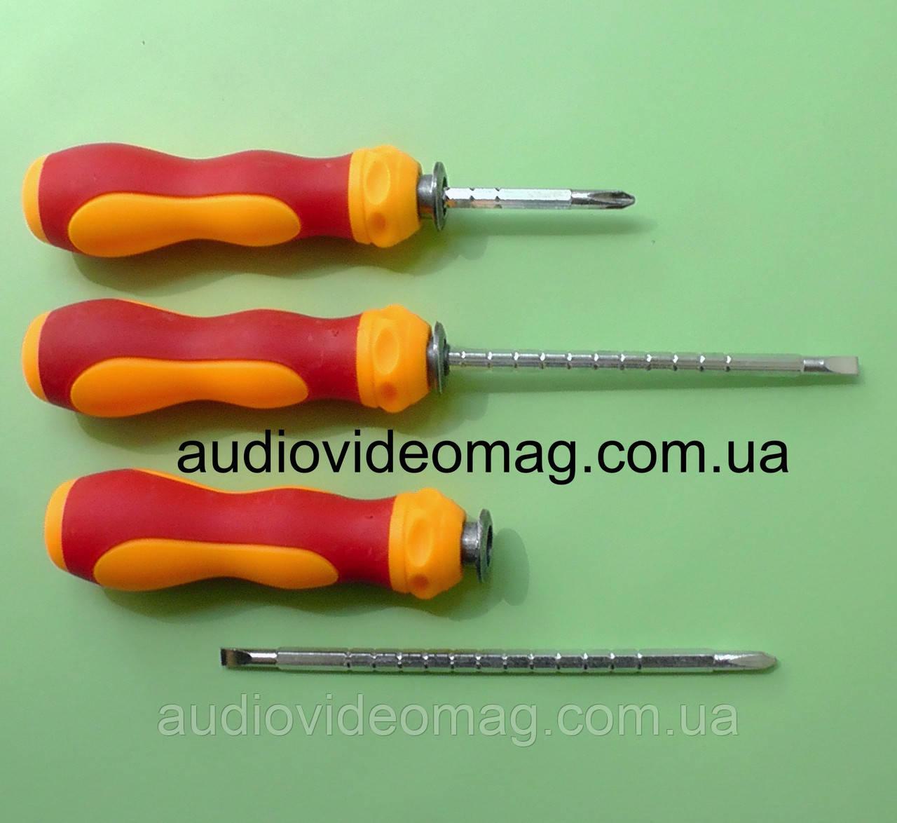 Викрутка двостороння SL3.5 мм + PH0 (3мм) з можливістю регулювання довжини