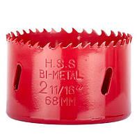 ✅ Коронка по металлу биметаллическая 68 мм INTERTOOL SD-5668