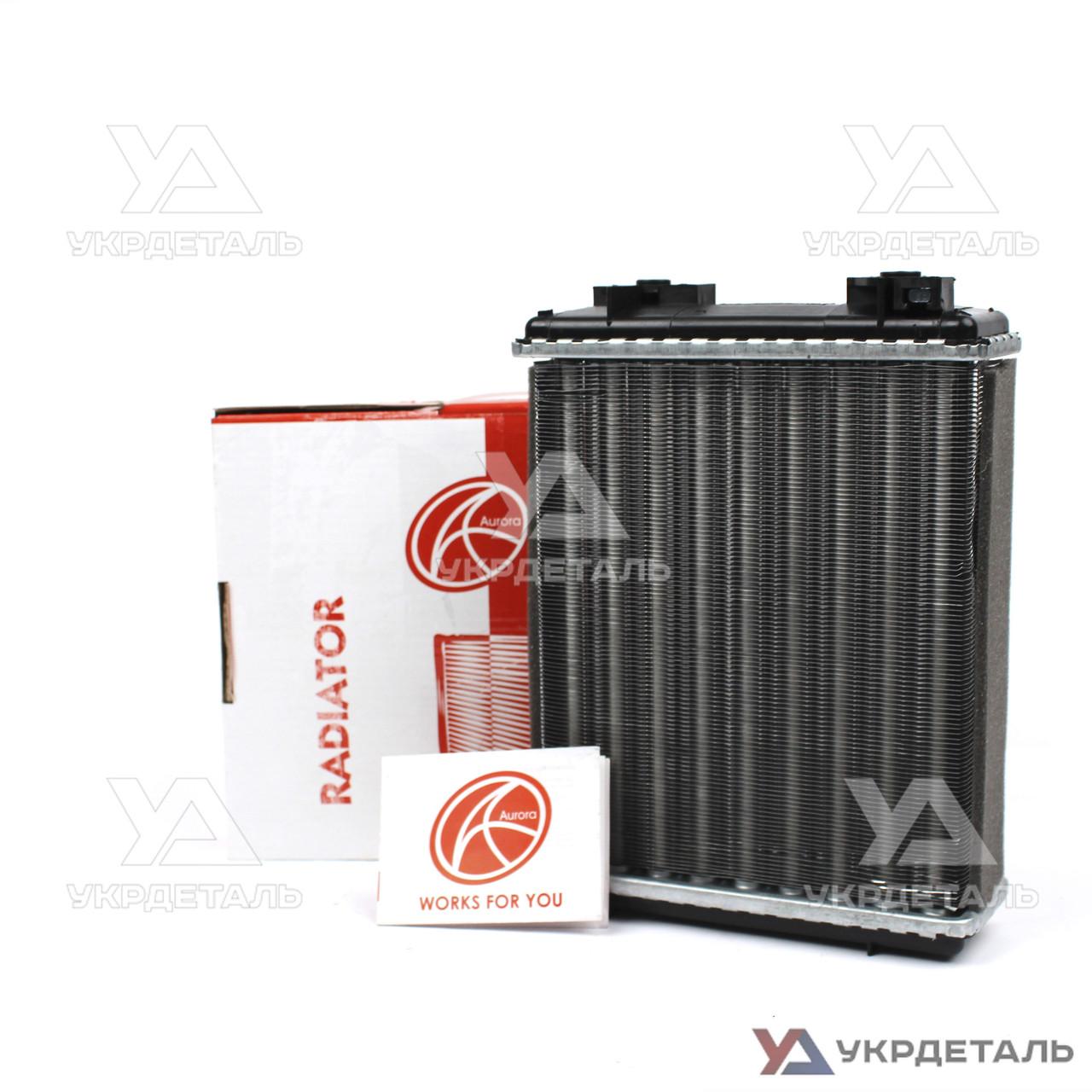 Радиатор отопителя (печки) ВАЗ-2101, 21011, 2102, 2103, 2104, 2105, 2106, 2107 | 2101-8101060 (AURORA)