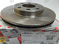 Тормозной диск передний Ferodo DDF1279 на Daewoo Aveo (R13)