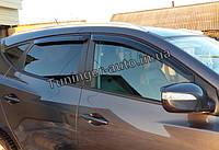 Ветровики, дефлекторы окон Hyundai IX-35 2009-2014 (Autoclover/Корея), фото 1