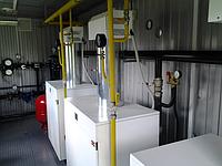 Модульные транспортабельные котельные с напольными газовыми котлами Колви 50-100 кВт