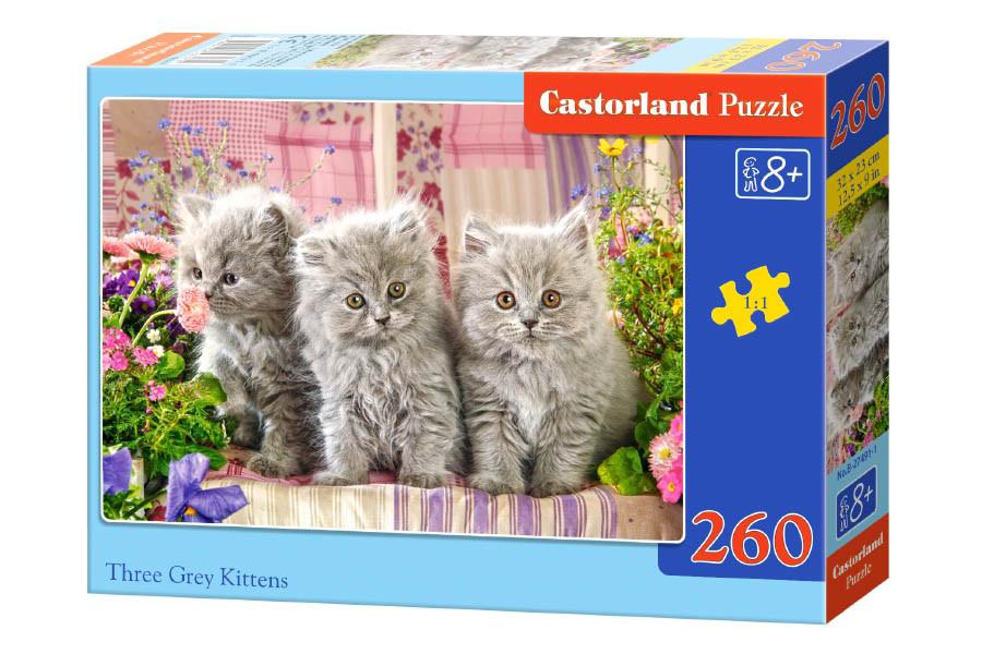 Пазлы Castorland Котята, 260 элементов