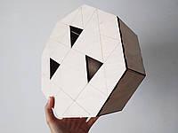 Коробка из фанеры восьмиугольная 25*10*25 см