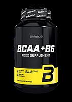 Амінокислоти BCAA BioTech BCAA + B6 (200 таб) (101320) Фірмовий товар!