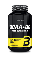 BCAA аминокислоты BioTech BCAA + B6 (200 таб)