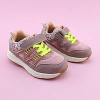 Кроссовки для девочки цвет Пудра тм Том.М размер 21,22,26