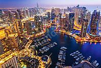 Пазлы Дубай ночью на 1000 элементов