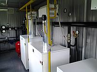 Газовая модульная транспортабельная котельная КМ-2 300 кВт с котлами Колви КТН 100 СЕ