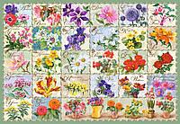 Пазлы Цветочный урожай на 1000 элементов