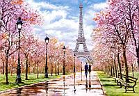 Пазлы Романтическая прогулка в Париже на 1000 элементов
