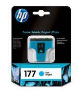 Картридж струйный HP №177 для Photosmart 3213/3313/8253 Cyan
