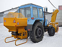 Снегоочиститель фрезерно-роторный ДЭМ 124 ДОРЭЛЕКТРОМАШ