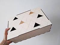 Коробка из фанеры прямоугольная 32*11*22см