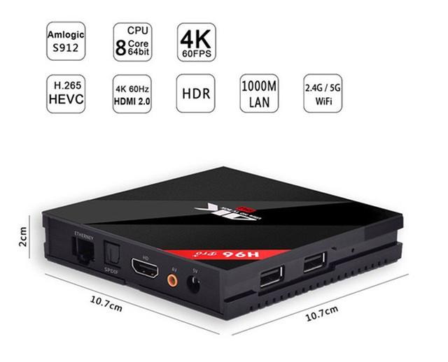 ТВ-приставка H96 Pro Plus