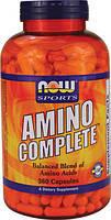 Аминокислоты (пептиды), 360 капс, полный комплекс, спорт здоровье красота  Now Foods USA