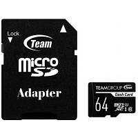 Карта памяти Team 64GB microSDXC class 10 UHS-I (TDUSDX64GUHS03)