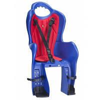 Детское велокресло Elibas P HTP design на багажник, синее (CHR-009-1)