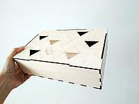 Коробка из фанеры прямоугольная 25*7*17см